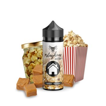 OWL #stayhome Popcorn Karamell 10ml Aroma Bottle in Bottle