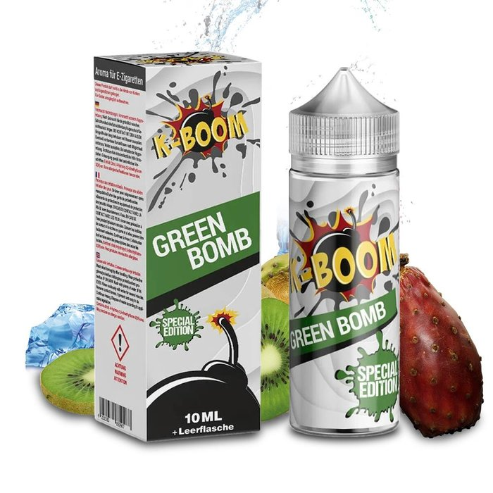 K-Boom Green Bomb Aroma 10ml Bottle in Bottle