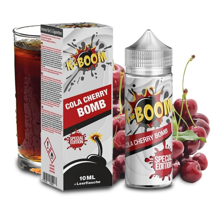 K-Boom Cola Cherry Bomb Aroma 10ml Bottle in Bottle