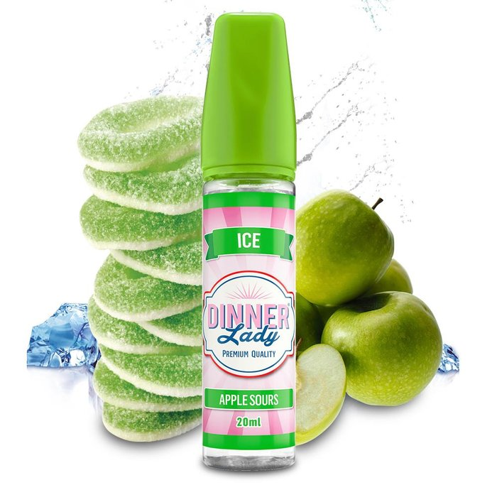 Dinner Lady Aroma - Apple Sours ICE Longfill 20ml