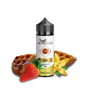 Shake-and-Vape Erdbeer Vanille Waffel 100ml 0mg