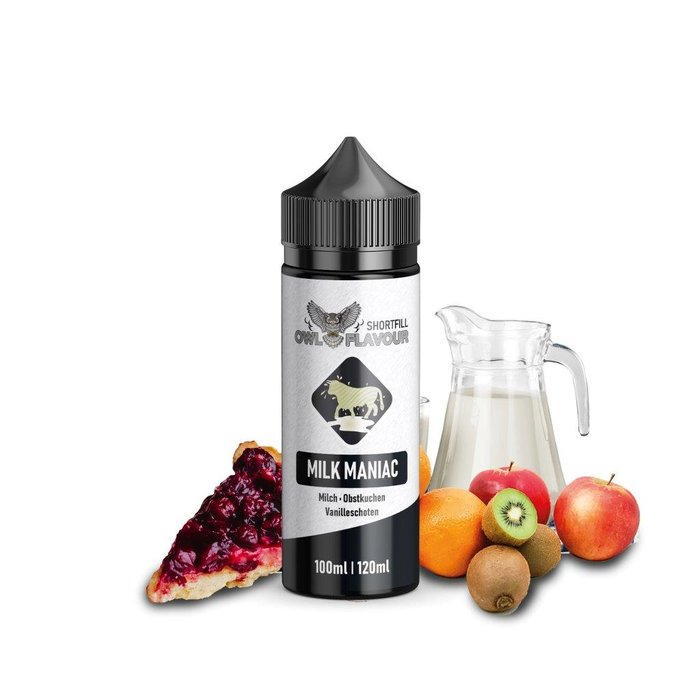 Shake-and-Vape Milk Maniac 100ml 0mg