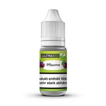 Ultrabio® E-Liquid Pflaume 10 ml 9 mg