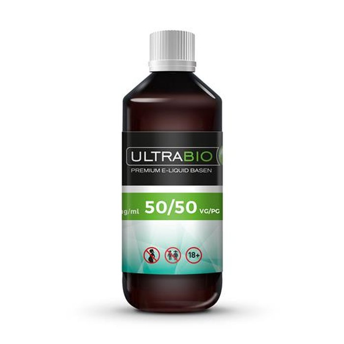 Ultrabio® Base 1 Liter 50/50, 50 VG 50 PG