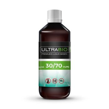 Ultrabio® 30/70 VG/PG Base 1 Liter